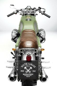 GOOD LIFE & GOOD TASTE: Moto Guzzi 850 Cafe Racer T4 Designed by South Gar...