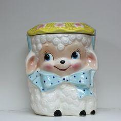 Lamb Cookie Jar