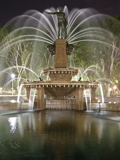 The Archibald Fountain, widely regarded as the finest public fountain in Australia, is located in Hyde Park, Sydney, New South Wales. It is named after J.F. Archibald, owner and editor of The Bulletin magazine, who bequeathed funds to have it built. He specified that it must be designed by a French artist, because of his great love of French culture and to commemorate the association of Australia and France in World War I. Hoping to rival his dream city Paris. artist François-Léon Sicard.