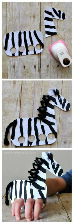 15 tolle Ideen zum Basteln mit Kindern zum Thema T+ Art For Kids, Crafts For Kids, Arts And Crafts, Group Art Projects, Diy Projects, Fun Facts About Animals, Zebra Art, Nature Artwork, Toddler Art