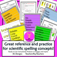 Orton-Gillingham and Academic Language Therapy based. Outlines, practice and flash cards.