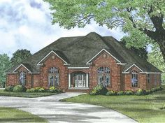 Eplans Traditional House Plan - Four Bedroom Traditional - 2833 Square Feet and 4 Bedrooms(s) from Eplans - House Plan Code HWEPL64227