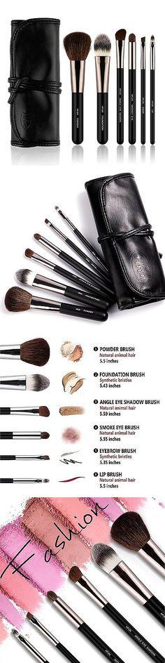 Beauty Makeup: Hfun 6 Piece Black Make Up Brush Set Foundation Eyeliner Blush Contour Brushes BUY IT NOW ONLY: $61.65