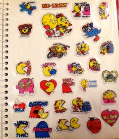 Fab and Thrifty-Something: My Vintage 80s Sticker Book Collection