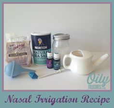 Nasal Irrigation with a Neti pot