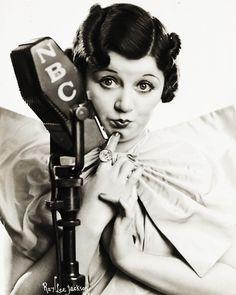 Mae Questel - the voice behindBetty BoopandOlive Oyl, 1936