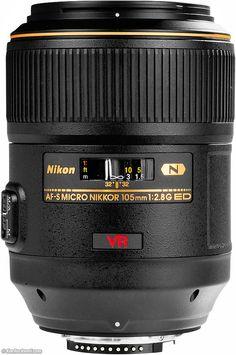 Nikon 105mm f/2.8 VR G $899. I wish....