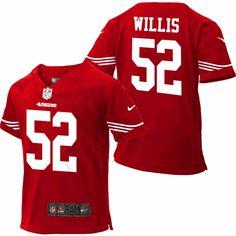 3b1b358a0 Patrick Willis Infant 49ers Jersey (12-24M)  SF  49ers  Willis
