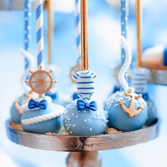 We organized an amazing new themed babyshower last Sunday: the nautical theme! ⚓️ What do you think of the cakepops? Cute Baking, Cakepops, Nautical Theme, Baby Boy Shower, Babyshower, Turning, Shower Ideas, Sunday, Organization