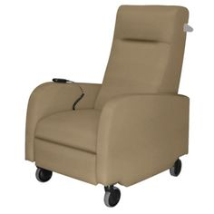 Motor Motor Assist Patient Recliner with Aluminum Pushbar in Fabric #healthcare #decor | National Business Furniture
