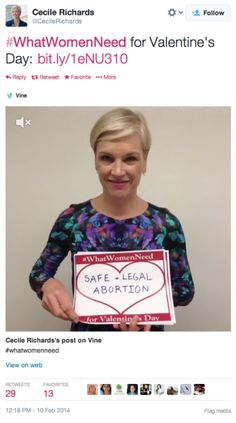 "Planned Parenthood CEO: ""Women Need"" Abortions For Valentine's Day… 