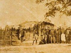 General Mitre e seus oficiais do Estado-Maior durante a Guerra do Paraguai  (Foto: Reprodução/Fundação Biblioteca Nacional)