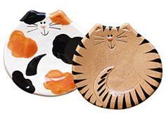 Cat Spoon Rests