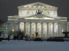 Moscu Rusia, Teatro Bolshoi