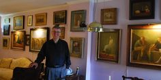 How to Collect and Display art: tips and ideas for creating a stunning art collection that you love and that will grow in value also from Peter Joly, Philadelphia. thedecorcafe,com