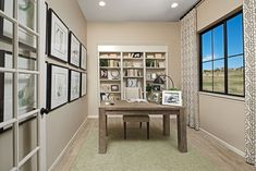 Productive workdays start here! | Avril model home study | Parker, Colorado | Richmond American Homes Richmond American Homes, Parker Colorado, Commerce City, Home Study, Highlands Ranch, Front Range, Castle Rock, Model Homes, Dream Homes