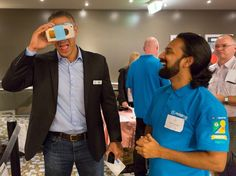 An awesome Virtual Reality pic! @takapunabeachnz Takapuna Beach Business Association March Conference Hosted by @property3dglobal. Once again we had the Virtual Reality headsets out showcasing some of the local businesses which have Google Street View See inside.  #event #information #technology #virtualreality #wow #googlestreetview #googlebusinessview #googlemaps #streetview #agency #creative #content by property3dglobal check us out: http://bit.ly/1KyLetq