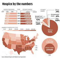 Hospice by the Numbers (infograph)