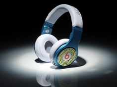 Monster Beats By Dr. Dre Pro Diamond High Performance Blue White