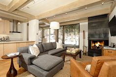 This gorgeous, two bedroom, two bath condo was just remodeled down to the studs. Featuring contemporary chic decor, hardwood floors #Aspen #home #rental #condo #vacation #luxury #vacation #apartment #property