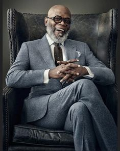 Samuel L Jackson is the man. RB Samuel L Jackson is the man. Business Portrait, Corporate Portrait, Business Headshots, Corporate Headshots, Gq, Suit Fashion, Mens Fashion, Street Fashion, Fashion Beauty