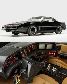 We'd bet that hundreds of hours have been spent perfecting this KITT movie car. I mean look at it!