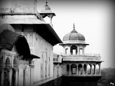 Agra fort by Prajakta P. This photograph was taken in Agra fort, Agra, Uttar Pradesh, India. This fort shows us the glorious tradition of Indian architecture. This is a UNESCO world heritage site.
