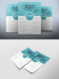 Flyer Multipurpose Sales. Flyer Templates. $6.00
