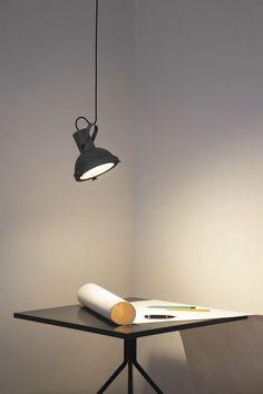 Hängelampe / originelles Design / für Innenbereich / Aluminium PROJECTEUR 165 NEMO