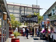 Permanent food truck lot...San Francisco, CA
