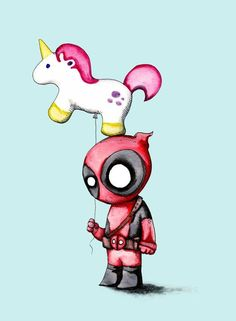 Ethereal Learn To Draw Comics Ideas. Fantastic Learn To Draw Comics Ideas. Drawing Cartoon Characters, Character Drawing, Comic Character, Cartoon Drawings, Cute Drawings, Cute Deadpool, Deadpool Unicorn, Deadpool Art, Deadpool Painting