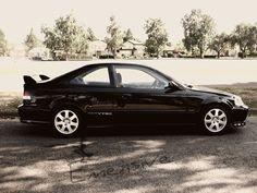 OEM Honda Civic Sir, Black
