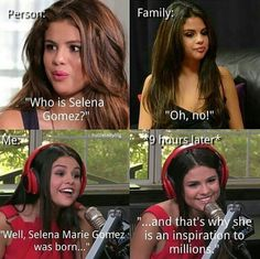 This is the same just with Fifth Harmony Fifth Harmony, Selena And Taylor, Justin Selena, Selena Gomez Facts, Funny Black Memes, Funny Memes, Selena Gomez Wallpaper, Divas, Anna Nicole Smith