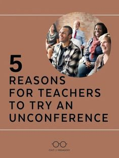 Unconferences are the greatest thing to hit professional development since the Internet: Free, informal gatherings where the content is provided entirely by the participants themselves. | Cult of Pedagogy Technology Tools, Educational Technology, Cult Of Pedagogy, Career Advice, Professional Development, Teacher, Internet, Student, Content