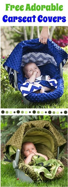 FREE Adorable Carseat Canopy Cover! {just pay s/h} ~ these make the CUTEST Baby Shower gifts for the Mom-to-Be!!