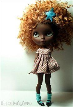 Blythe Copper Curls:
