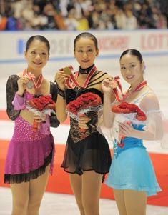 With Akiko Suzuki and Yukari Nakano(JAPAN)
