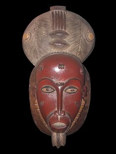 Masque Baoulé  ART AFRICAIN AFRICAN ART ARTE AFRICANO AFRICANISCHE
