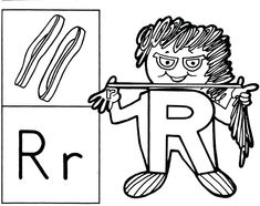 Brilliant Beginnings Preschool: Letter Person T Coloring