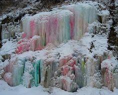 Fairyland Icicle Falls Winter Fun, Winter Snow, Winter Magic, Winter White, Winter Ideas, Winter Season, Winter Holidays, Holiday Ideas, Ice Ice Baby