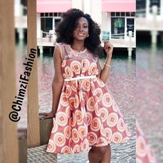 Ankara dresses (Princess Dress) Pd0004 | Chimzi Fashion House