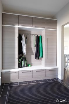 Entryway & Mud Room Storage Gallery - Closets Plus