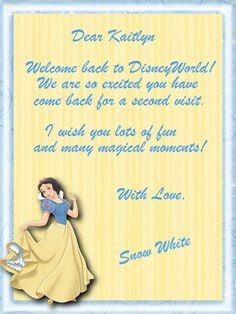 Welcome Back to Disney World
