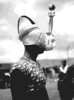 "Africa | ""Nwanyi Oma (beautiful woman)"".  Boys initiation, Elugu. 