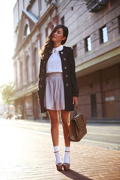 love this layered look #chic