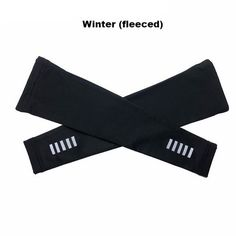 Reflective Arm Warmers With Fleeced Option