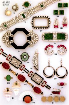 art deco jewelry                                                                                                                                                                                 More