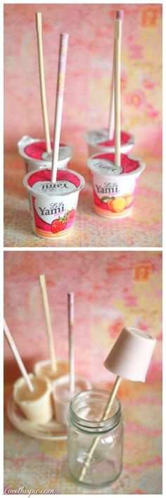 DIY Yogurt Pops Pictures, Photos, and Images for Facebook, Tumblr, Pinterest, and Twitter