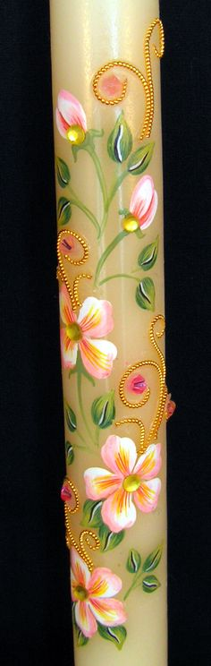 Pascha Candles Part 1 - St. Candle idea for a style John Chrysostom, Orthodox Easter, Church Candles, Greek Easter, Christ Is Risen, Easter 2020, Easter Traditions, Easter Celebration, Handmade Candles