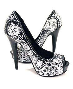 Zentangle heels